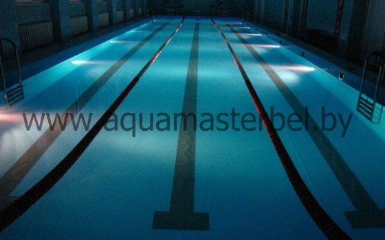Реконструкция бассейна 25 м., ПВХ плёнка, внешний вид
