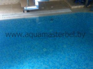 переливной бассейн, мозаика