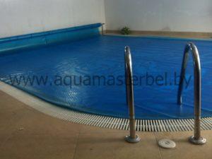 переливной бассейн, покрывало для бассейна