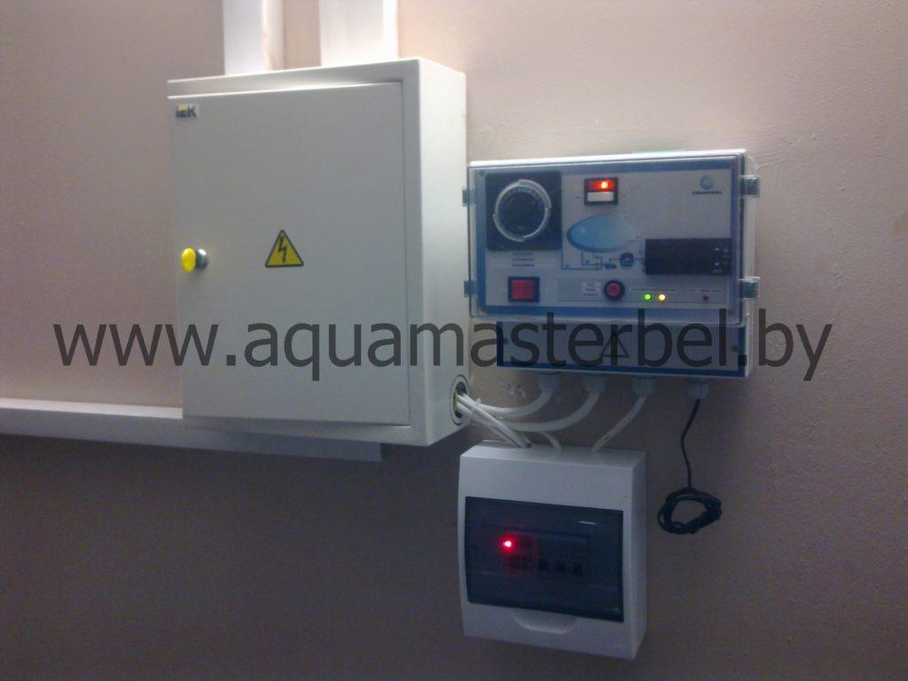 оборудование для бассейнов, управление фильтрацией