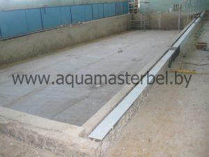 реконструкция бассейна, восстановление бетонной чаши