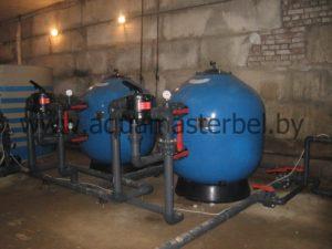 реконструкция бассейна, фильтры для бассейна