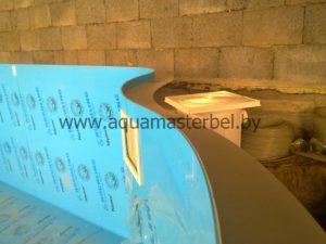 скиммер для бассейна пластиковый