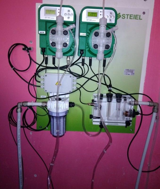 автоматическая станция дозации химии STEIEL