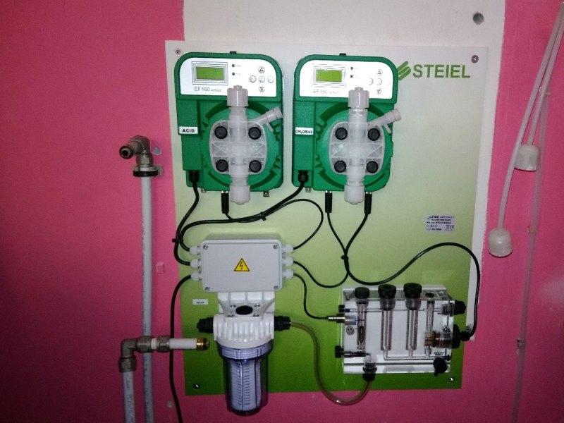 станция дозирования химии STEILE подключение