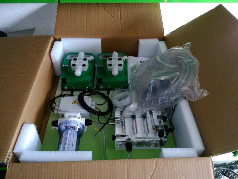станция дозации химии STEILE распаковка