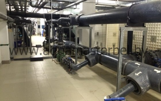 оборудование для бассейна, трубопроводы