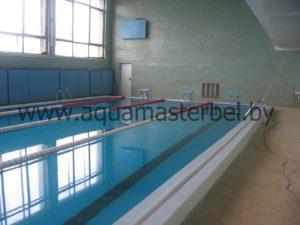 реконструкция бассейна, спортивное оборудование