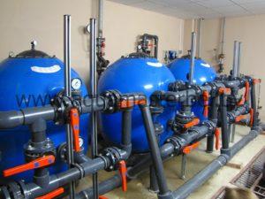 реконструкция бассейна, оборудование, фильтры для бассейна